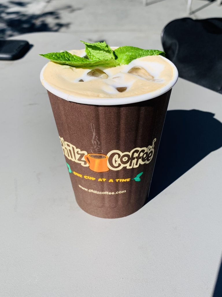フィルズ・コーヒーのミントコーヒー