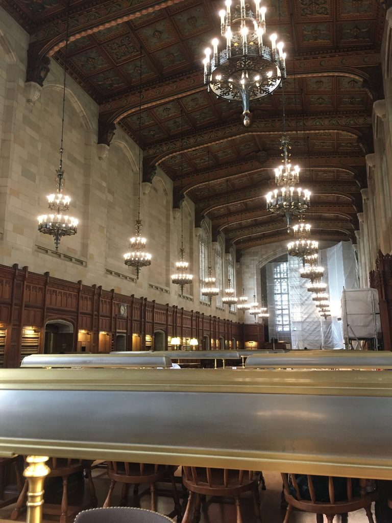 ミシガン大学アナーバー校の図書館
