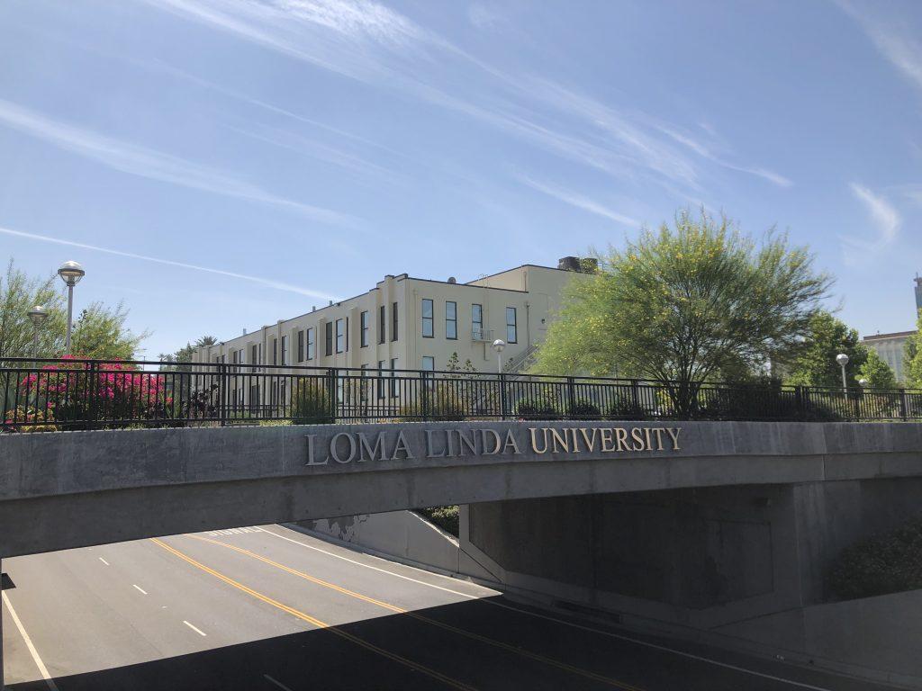 ロマリンダ大学の様子