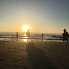 ロサンゼルスの海岸風景
