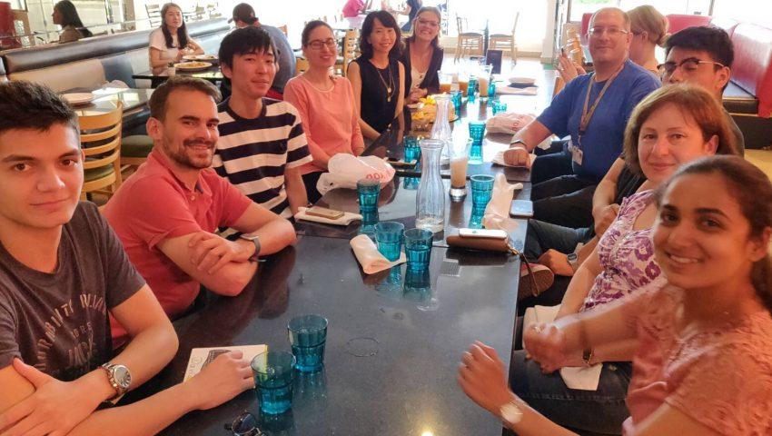 アメリカのロサンゼルスで留学する吉山さんとそのお友達