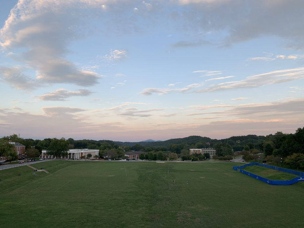 ノースジョージア大学のキャンパス風景