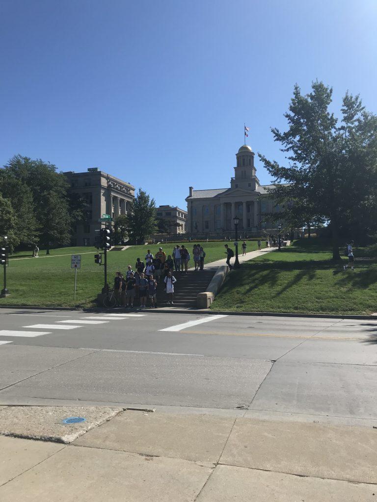 アイオワ大学のキャンパスの様子