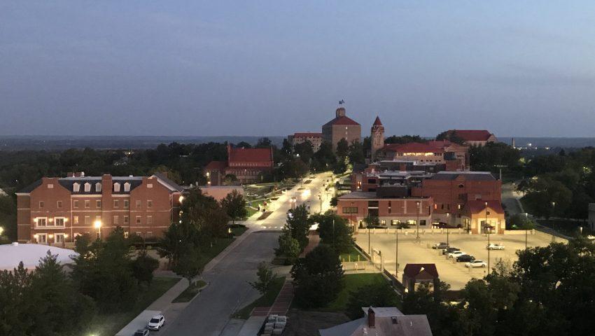 カンザス大学のキャンパス風景