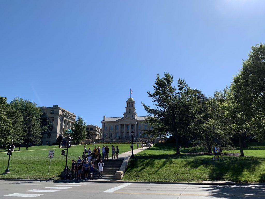 アイオワ大学の風景