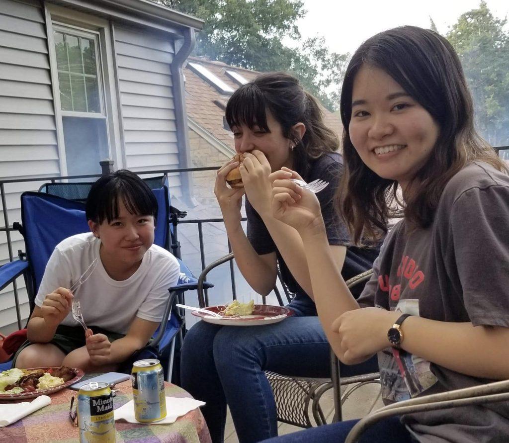 ネブラスカウェスレヤン大学に留学する池田さん