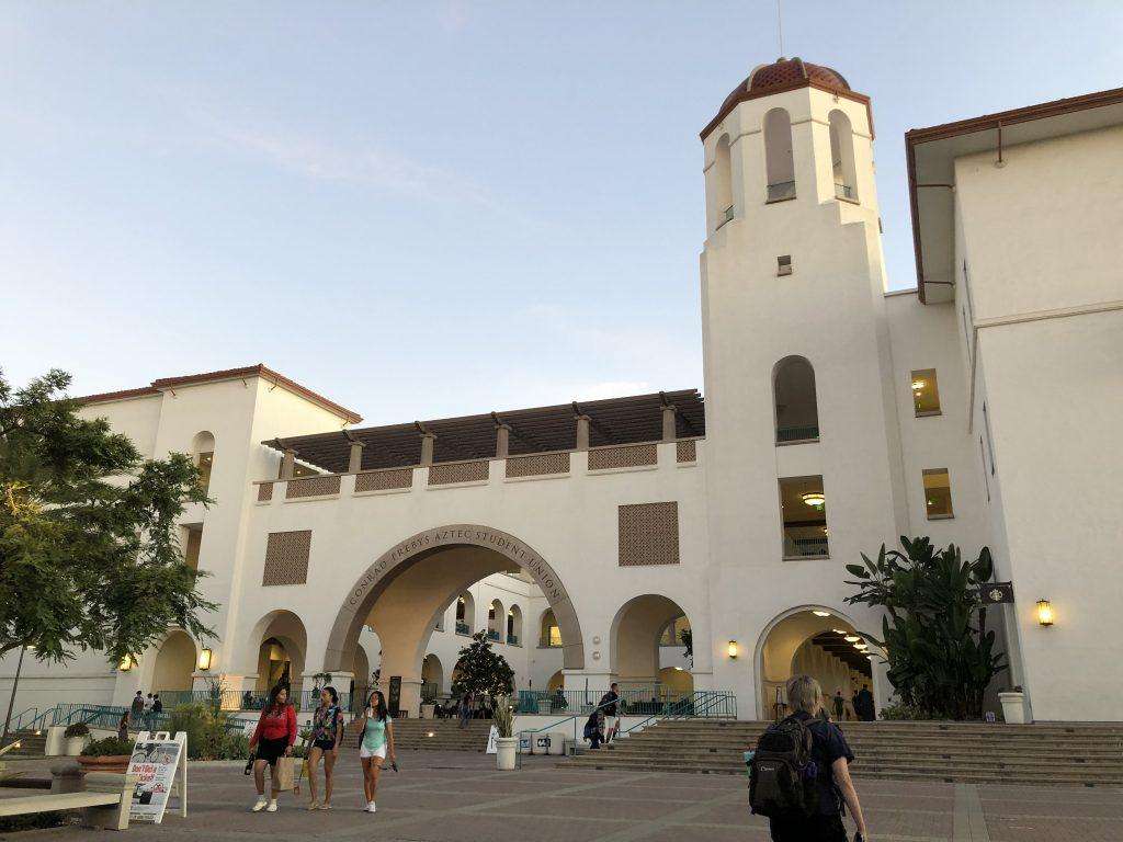 サンディエゴ州立大学の様子