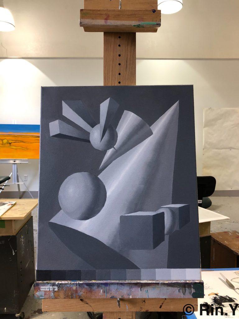 ネブラスカウェスリアン大学のアート授業