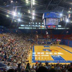 カンザス大学のバスケットボールコート