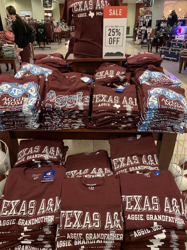 テキサスA&M大学周辺の様子